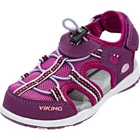 Viking Footwear Thrill Sandalen Kinder plum/dark pink